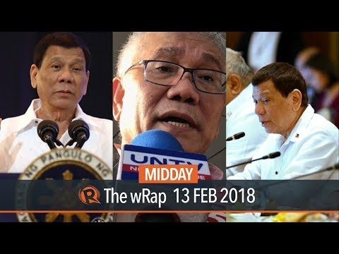 Duterte on ICC, Duterte on Licuanan, Napolcom on troubled cops | Midday wRap