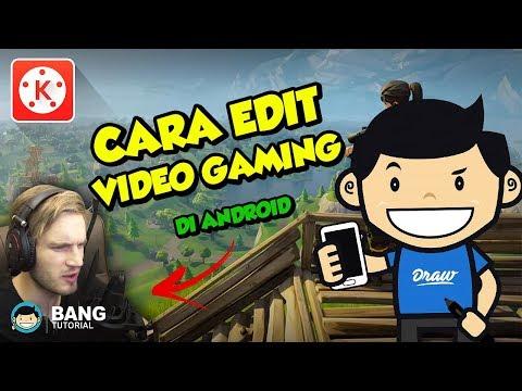 Cara Edit Video Gaming (Greenscreen) di Hp Android - KINEMASTER TUTORIAL #13 - 동영상