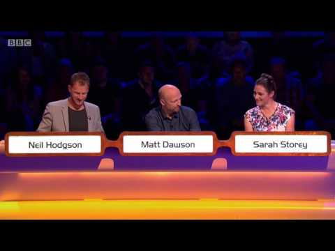 Stuart Broad's Mystery Guest Appearance on Question of Sport [Aug 2016]