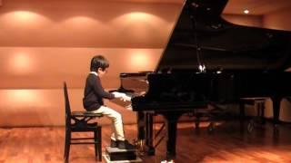 Bartok 5.Variationen バルトーク 5.変奏曲 JPTA JII部門 小3