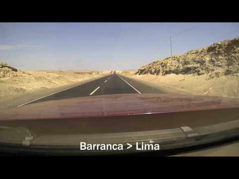 Peru Drive-lapse - April 2016 Road Trip Driving Route Brinno time-lapse