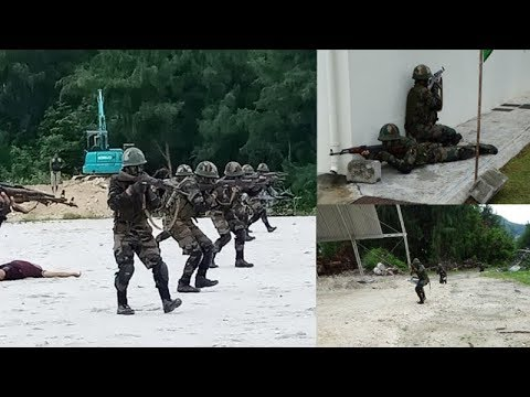 Watch: Indo-Seychelles joint military exercise