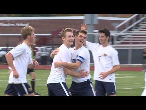 Highlights: Woodstock 2, East Lyme 0 in ECC boys' soccer final