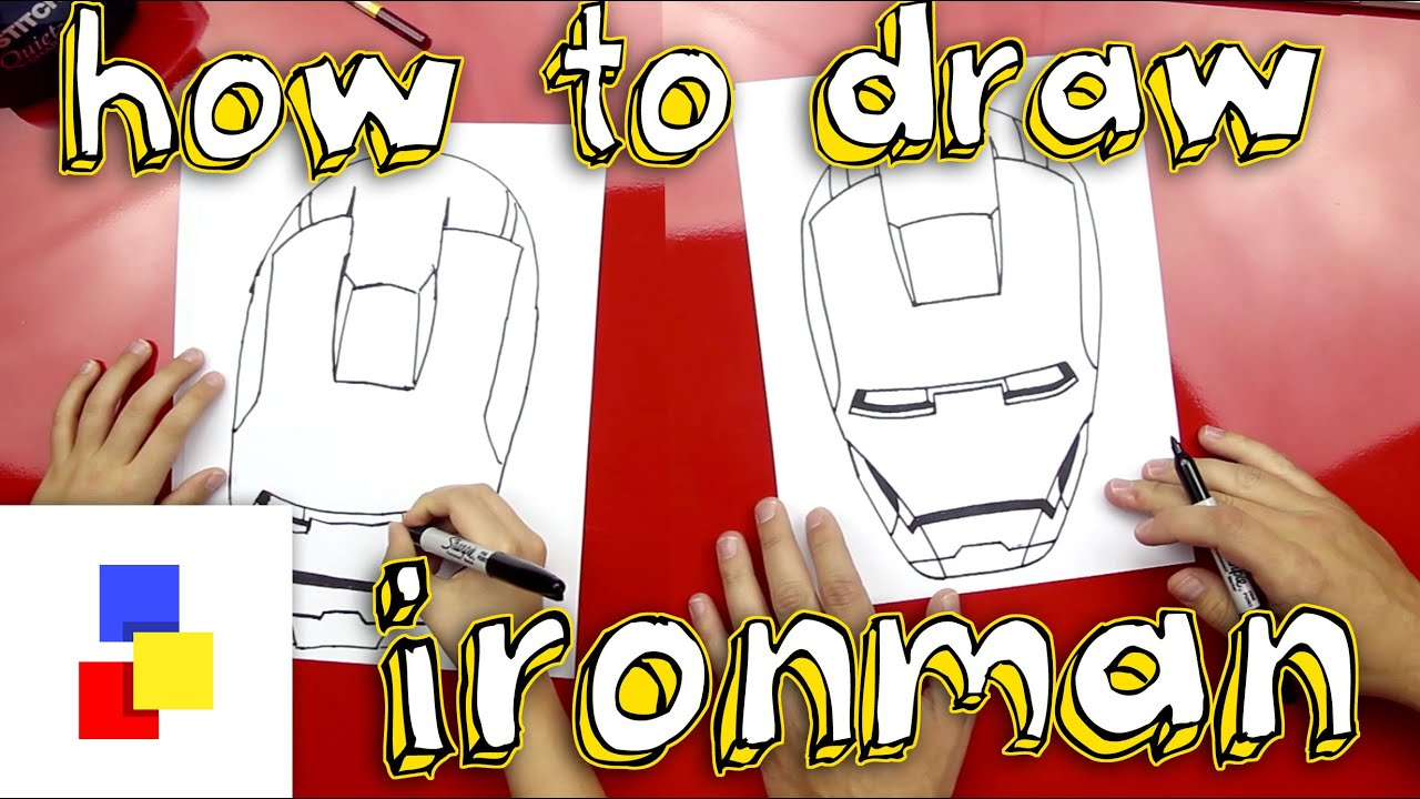 how to draw ironman youtube