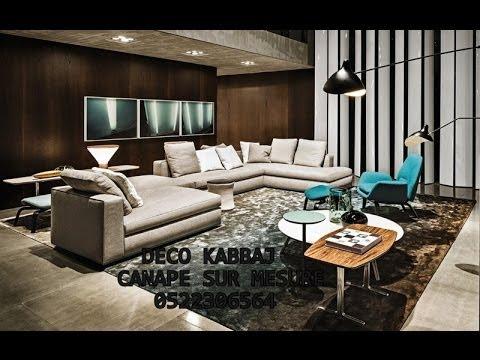 Salon marocain 2014 et canap youtube for Canape marocain