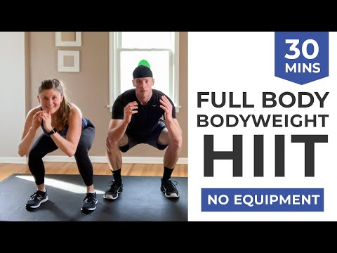 30-Minute HIIT AT HOME | Calorie Torching �� No Equipment Workout