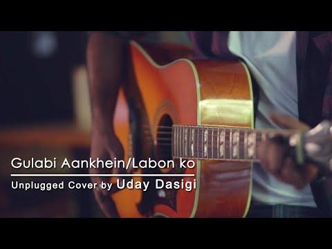 gulabi-aankhein-|-labon-ko---unplugged-cover-|-uday-dasigi