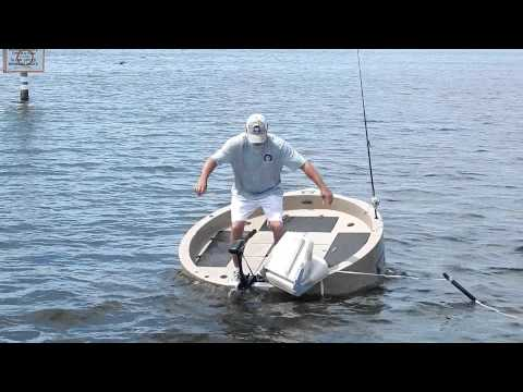 Roundabout watercrafts stability youtube for Circle fishing boat
