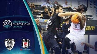 PAOK v Besiktas Sompo Sigorta - Full Game - Basketball Champions League 2019-20