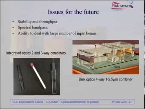 Lecture 003 : Optical Interferometry in Practice
