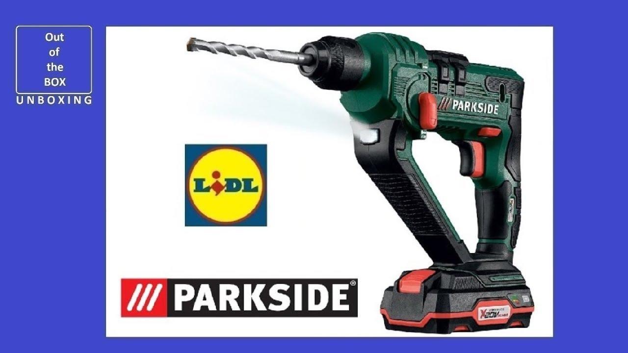 Parkside cordless hammer impact drill pabh 20 li b2 for Batteria parkside 20v