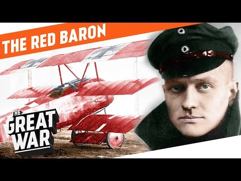 The Red Baron  Manfred von Richthofen I WHO DID WHAT IN WW1?