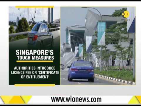 Singapore's fight against traffic jams