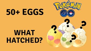 Pokemon GO Egg Hatching in June 2020 MORE THAN *50+ EGGS!* 2km,5km,7km, 10km