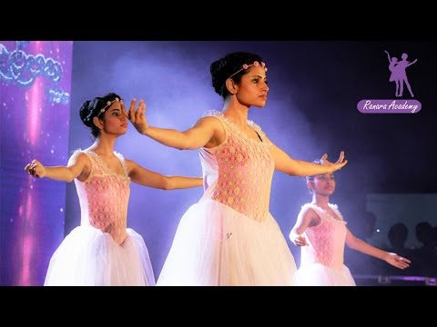 Contemporary ballet group dance performance from Ranara academy  - Sri Lanka