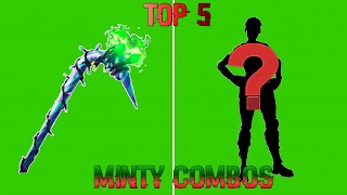 My top 5 fortnite minty pickaxe combos you HAVE to try!