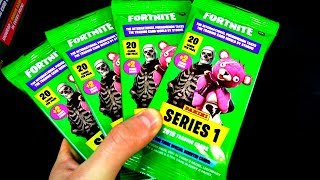 Panini SERIES 1 FORTNITE TRADING CARDS FAT PACKS 😱🔥