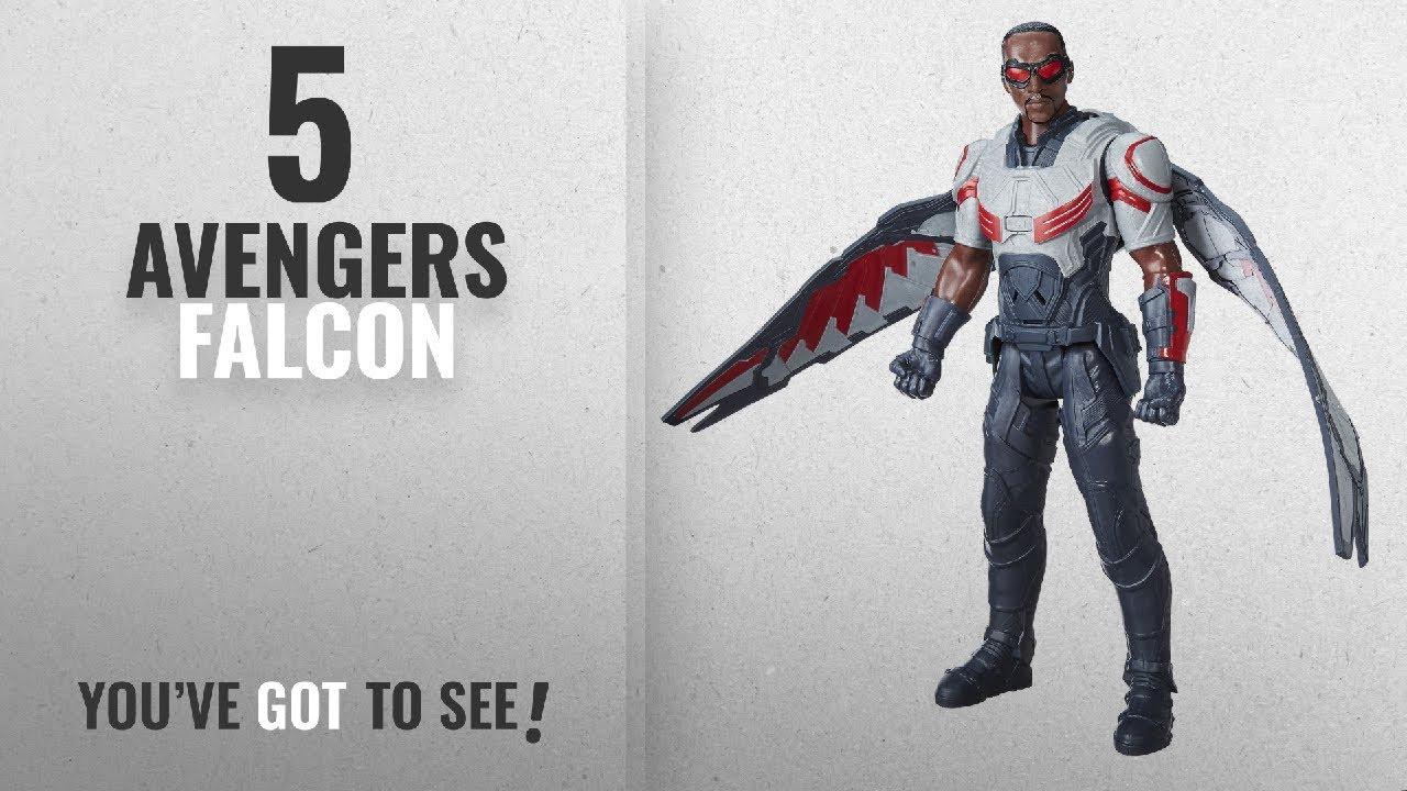 Top 10 Avengers Falcon [2018]: Marvel Titan Hero Series Marvel's Falcon Electronic Figure