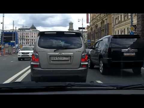 Зеленоград - Кузьминки - Котельники / Zelenograd - Kuzminki - Kotelniki 22/07/2012 (timelapse 4x)