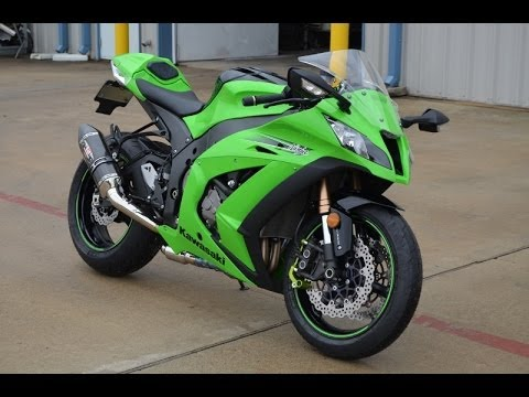 2011 ZX10R ABS Ninja! Set up for going the distance!