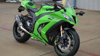 Gambar cover 2011 ZX10R ABS Ninja!  Set up for going the distance!
