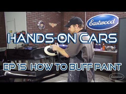 How To Color Sand & Buff Your Car's Paint on Hands-On Cars E