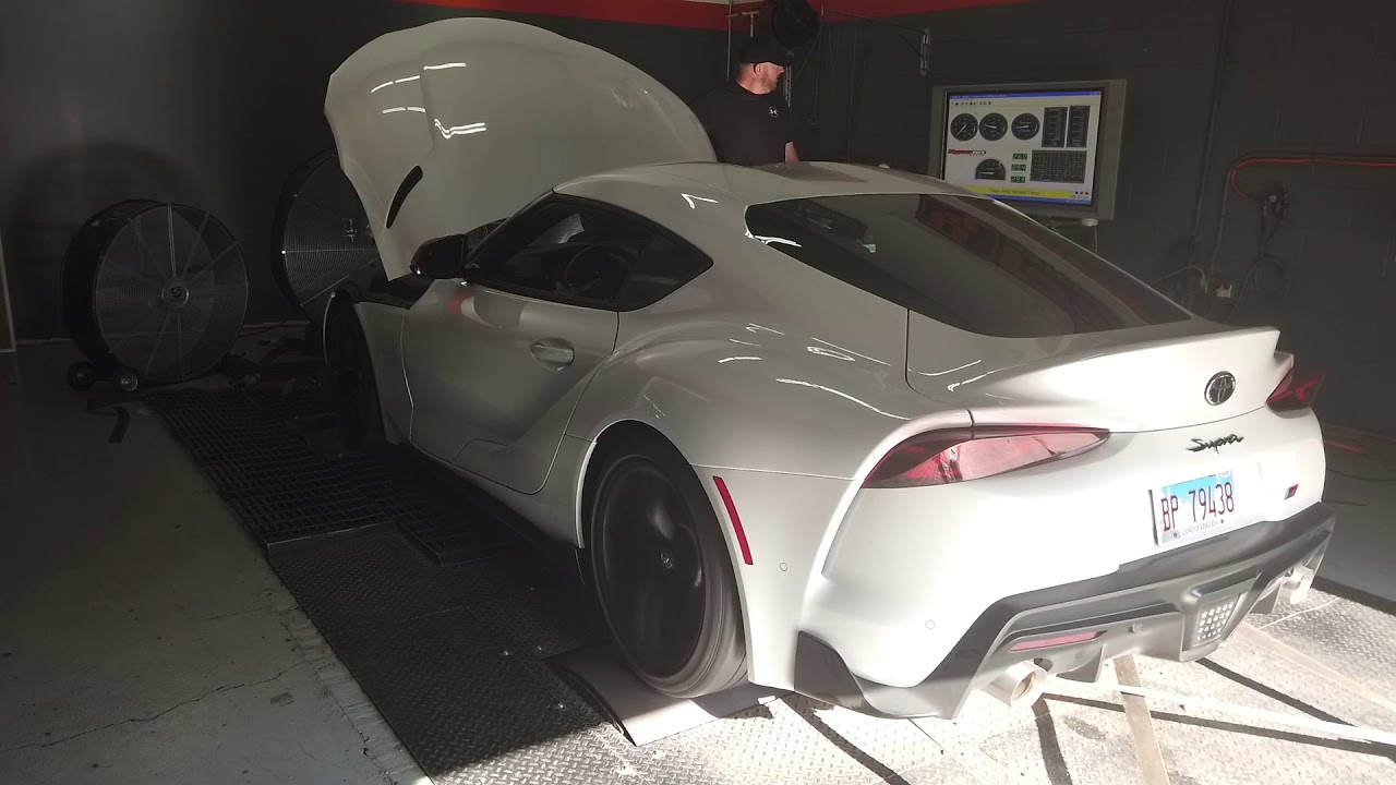 Chris Hill's 2020 GR Supra MKV lays down 485 whp and 513 wtq | Supra