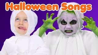 Halloween Songs for Kids | Finger Family Costumes | Halloween Compilation