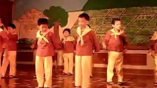 Sakuting by Kindergarten Kids (Filipino Folk Dance)