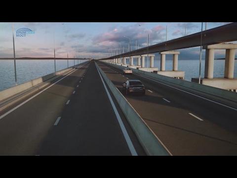 Trois ans après l'annexion, un pont entre la Russie et la Crimée cher à Vladimir Poutine