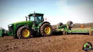 ( Winter Special ) John Deere 8335 R mit der neuen Catros+ 12003-2TS Scheibenegge