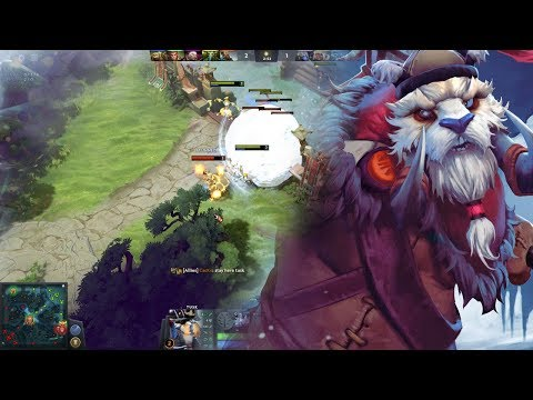Dota 2 Gameplay #117,5: Tusk, Roaming (German)
