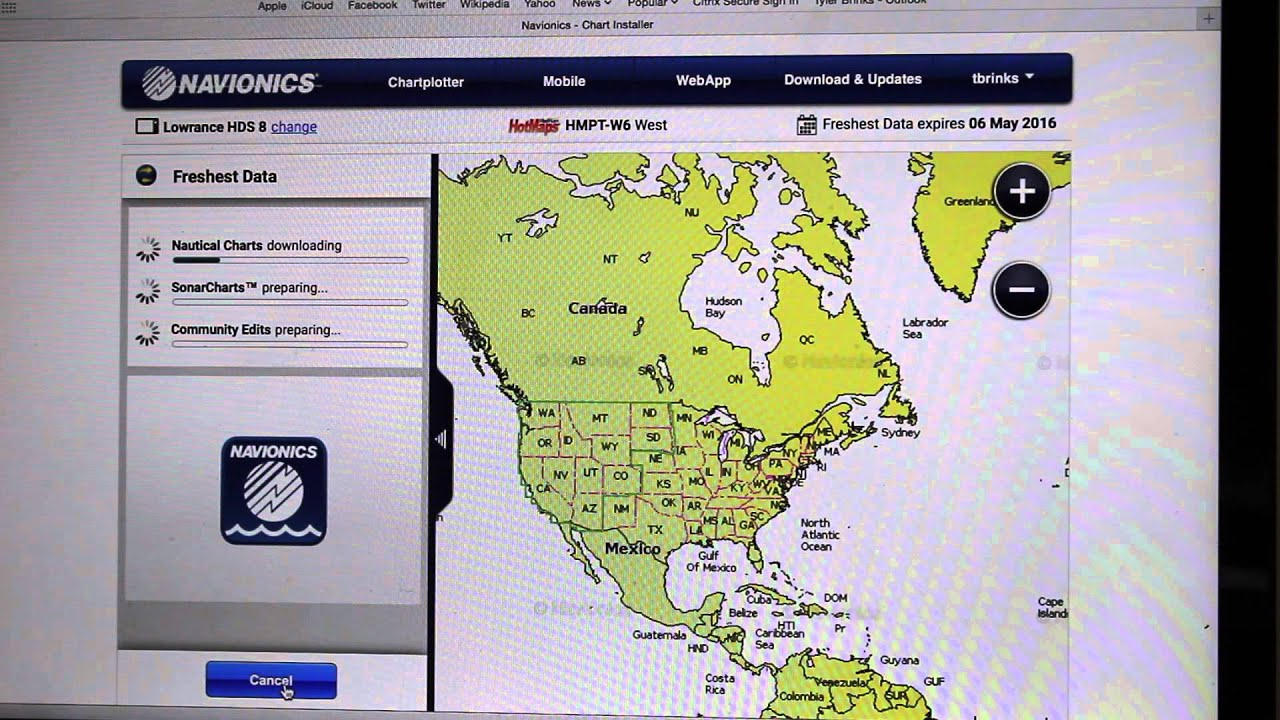 oppdatere navionics kart How to Update Your Navionics Card   YouTube oppdatere navionics kart