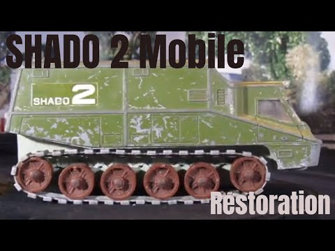 SHADO 2 Mobile restoration from the  UFO Tv Series - Dinky 353