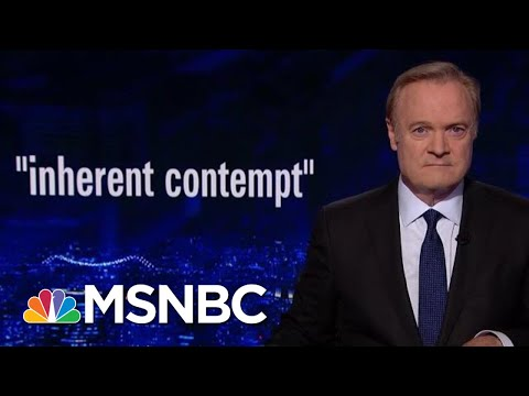 Trump v. Congress: Trump's Top Lawyer 'Should Brush Up On The Law' | The Last Word | MSNBC