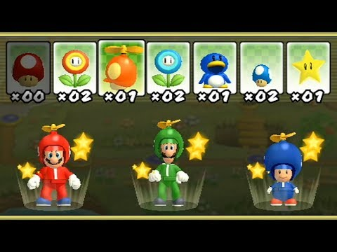New Super Mario Bros Wii - All Power-Ups