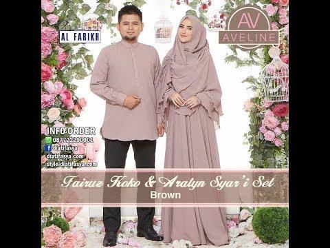3 Model Baju Muslim Couple Keluarga Terbaru 2017 2018