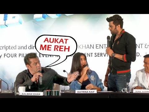 Salman Khan GETS ANGRY On Manish Paul For Touching Katrina Kaif