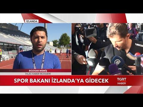 """Türkiye'den İzlanda'ya """"Milli Takım"""" Notası"""