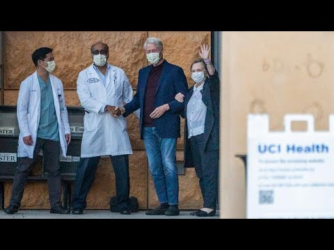 بيل كلينتون يغادر المستشفى بعد خضوعه لعلاج استمر خمسة أيام