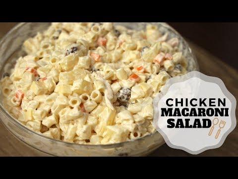 Chicken Macaroni Salad - Pinoy Style ( Christmas Recipes )