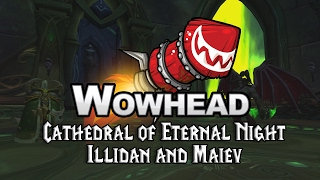Cathedral of Eternal Night - Illidan and Maiev