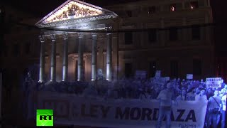 Holograms For Freedom: Thousands Join Virtual Demo Against New Protest Law In Spain