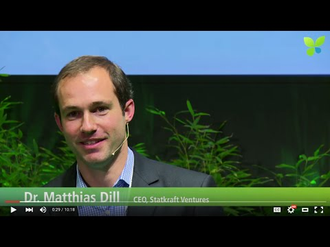 ECO15 London: Matthias Dill Statkraft Ventures