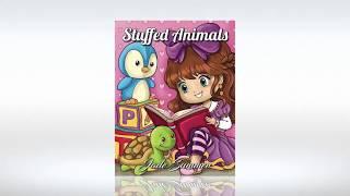 Aperçu du livre de coloriage de Jade Summer - Stuffed Animals