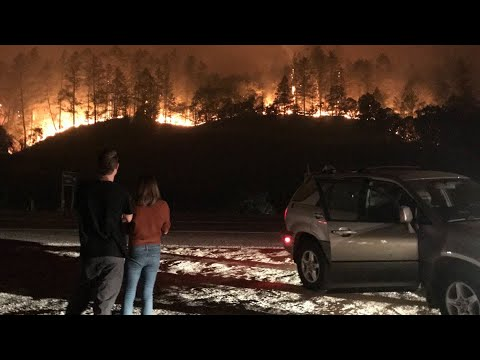 California Wildfire Updates: Glass, Zogg Fires Explode In Size Forcing 1000's From Their Homes