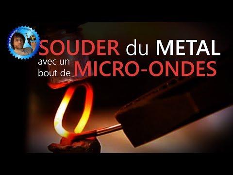 Souder avec un bout de four micro ondes - soudeuse par point - HS - Monsieur Bidouille