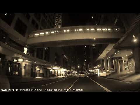 Sydney Night Drive