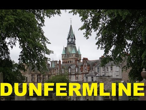 GREAT BRITAIN: DUNFERMLINE (Scotland, UK) #dunfemline2019, #dunfermlinescotland,