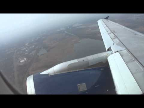 Delta Airlines Airbus A320 Takeoff from Minneapolis on RWY 12R